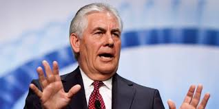 US Secretary of State nominee Rex Tillerson (Source: Google photo)